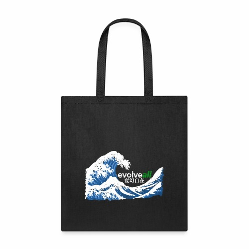 EvolveAll Riding The Wave - Tote Bag
