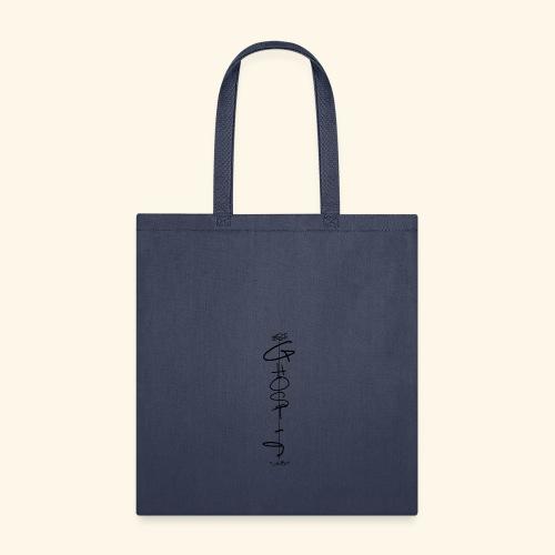 Downwards ghost - Tote Bag