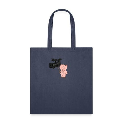 Hammie holding camera - Tote Bag