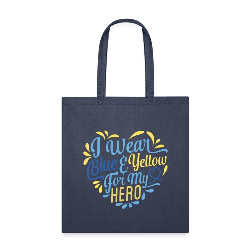 Blue & Yellow - Tote Bag