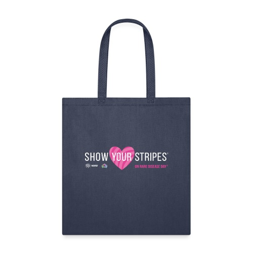 Show Your Stripes for Rare Disease Day! - Tote Bag