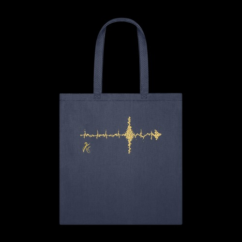 Sound Wave Arrow - Tote Bag