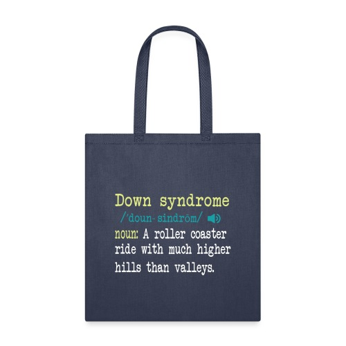 Down syndrome Definition - Tote Bag