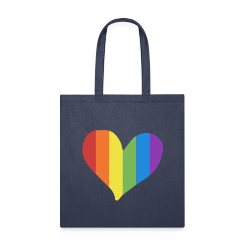 Pride Rainbow Heart - Tote Bag