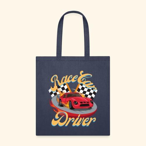 Race Car Driver - Tote Bag