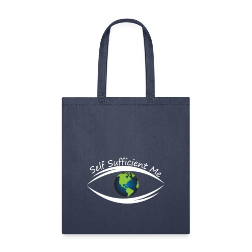 Self Sufficient Me Logo Large - Tote Bag