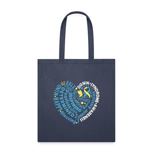 Heart Wordle - Tote Bag