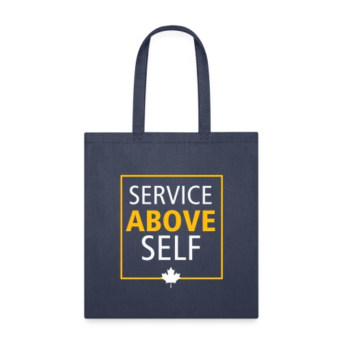 Service Above Self - Tote Bag
