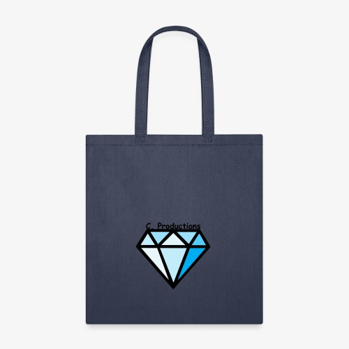 C. Productions Diamond Logo - Tote Bag