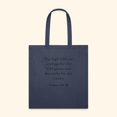 High Hills KJV - Tote Bag