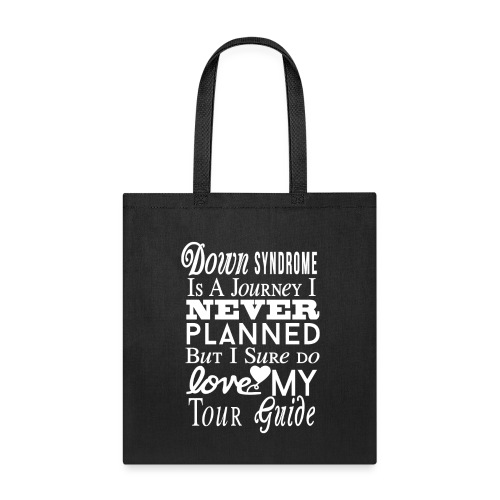 Down syndrome Journey - Tote Bag