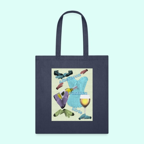 Afternoon Fashion Style - Tote Bag