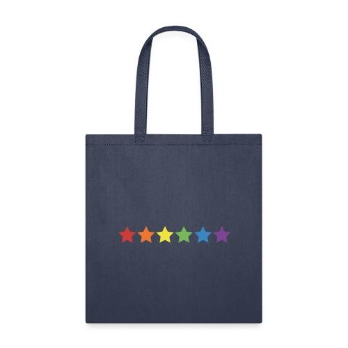 Pride Rainbow Stars - Tote Bag