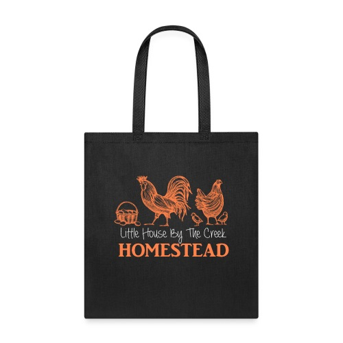 Little House By The Creek - Tote Bag