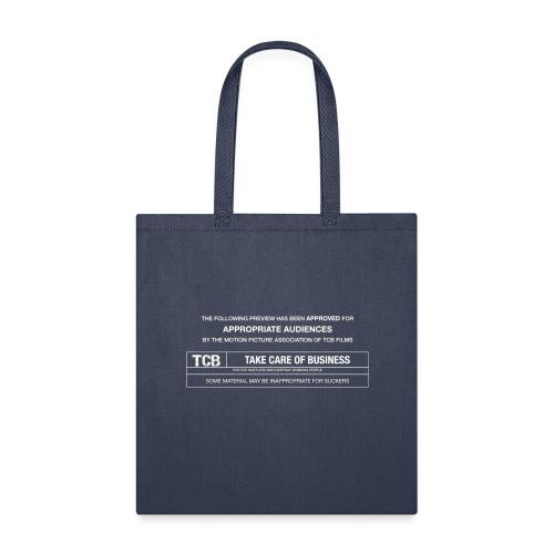 TCB Films Disclamer - Tote Bag