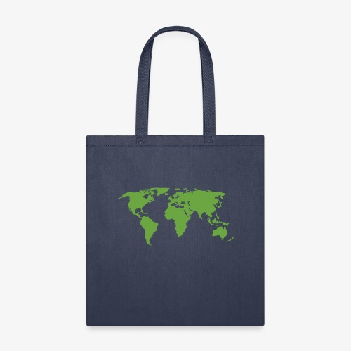 Planet Earth Green - Tote Bag