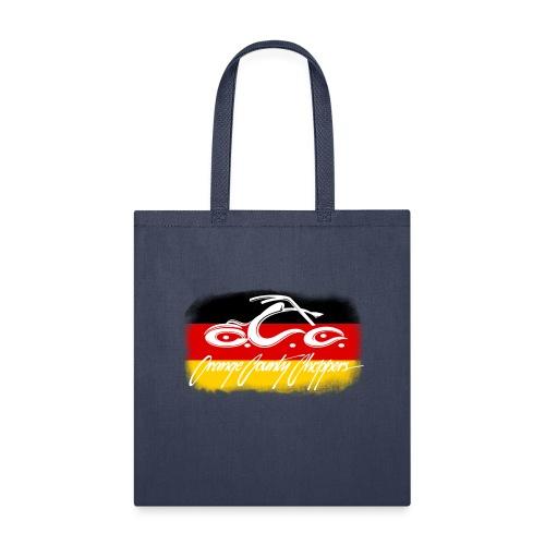OCC Logo Distressed German Flag - Tote Bag