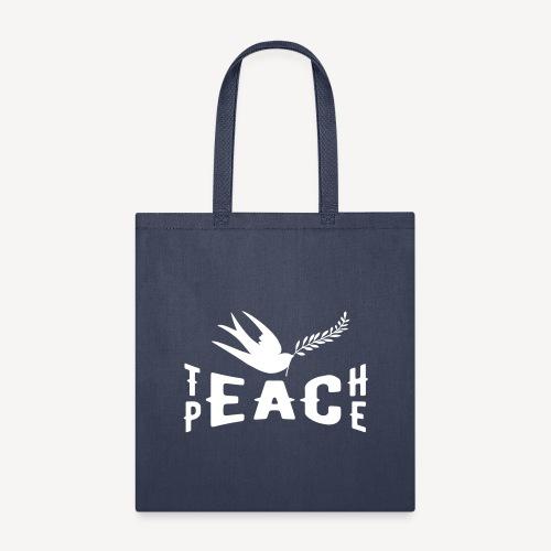 TEACH PEACE - Tote Bag