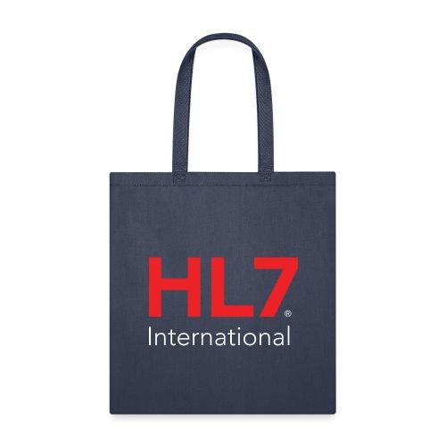 HL7 International Logo - Reverse - Tote Bag