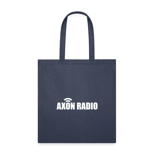 Axon Radio | White night apparel. - Tote Bag