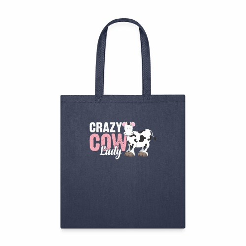 CRAZY COW LADY - Tote Bag