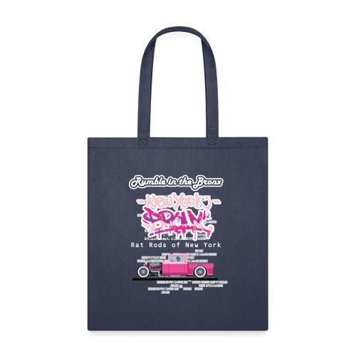 Rumble Bronx Pink Rat Rod 1 - Tote Bag