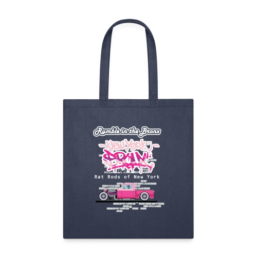 Rumble Bronx Pink Rat Rod 1 - Tote Bag