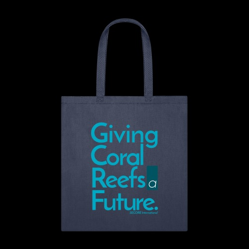 Giving Coral Reefs a Future (blue) - Tote Bag