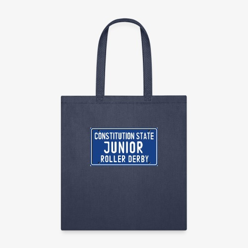 Constitution State Junior Roller Derby - Tote Bag
