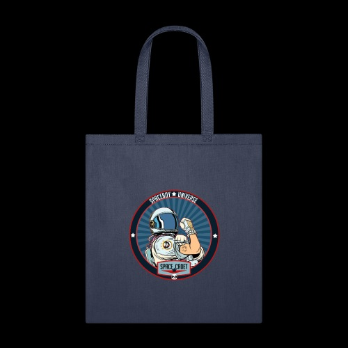 Space Cadet Can Do Badge - Tote Bag