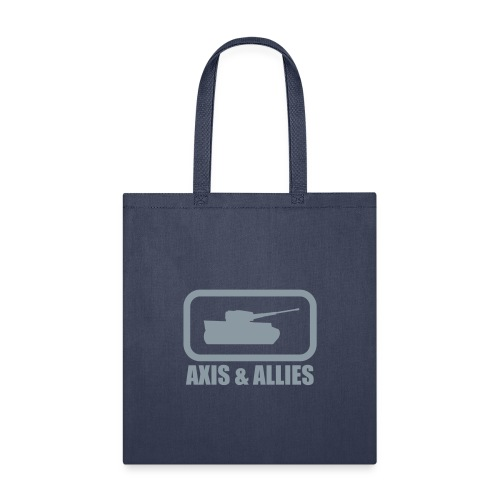 Tank Logo with Axis & Allies text - Multi-color - Tote Bag