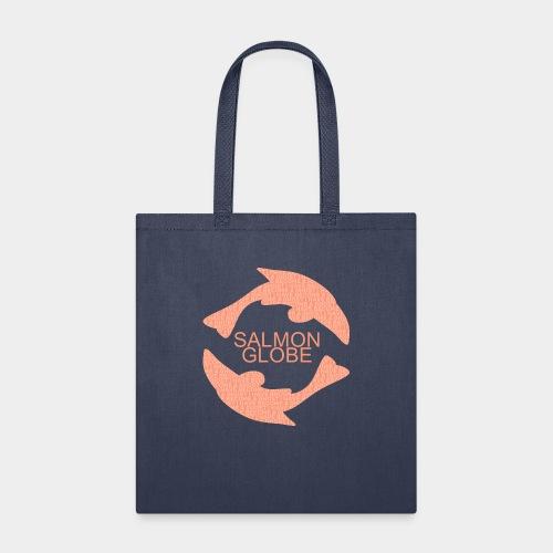 Salmon Globe - Tote Bag