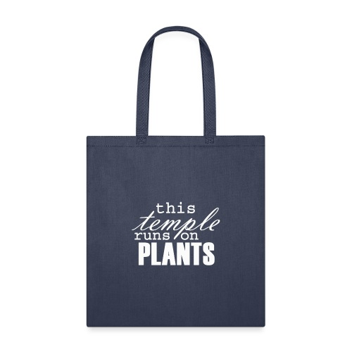 This temple runs on plants - Tote Bag