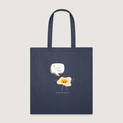 yoLk hard L - Tote Bag