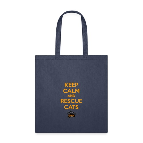 Keep Calm and Rescue Cats - Tote Bag