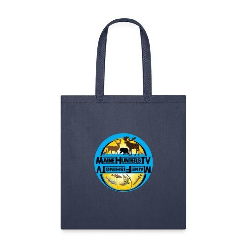 duel logos mftv mhtv blue - Tote Bag