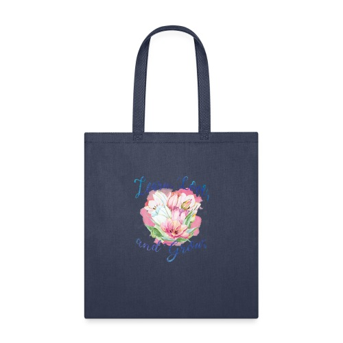 beautiful flower message - Tote Bag
