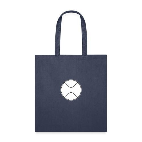 Basketball black and white - Tote Bag