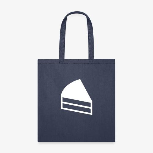 White - cayke - Tote Bag