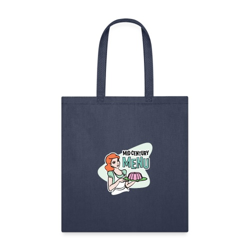 Double-Sided Mid Century Menu Ruth Logo - Tote Bag
