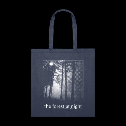 The Forest At Night - Tote Bag