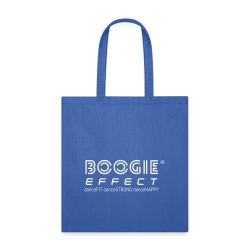 boogie effect fit strong happy logo white - Tote Bag
