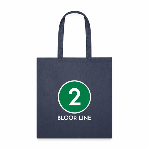 Bloor Street Subway Line - Tote Bag