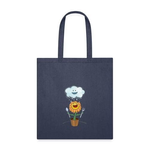 Cloud & Flower - Best friends forever - Tote Bag
