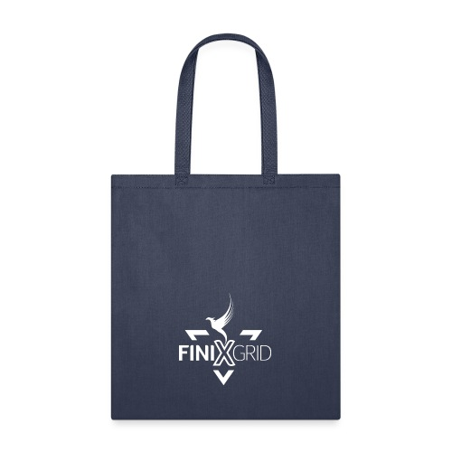 Finix White - Tote Bag