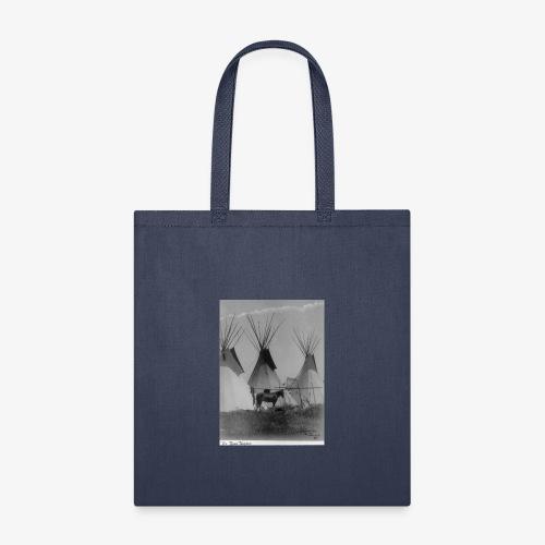 The Three Teepees - Tote Bag