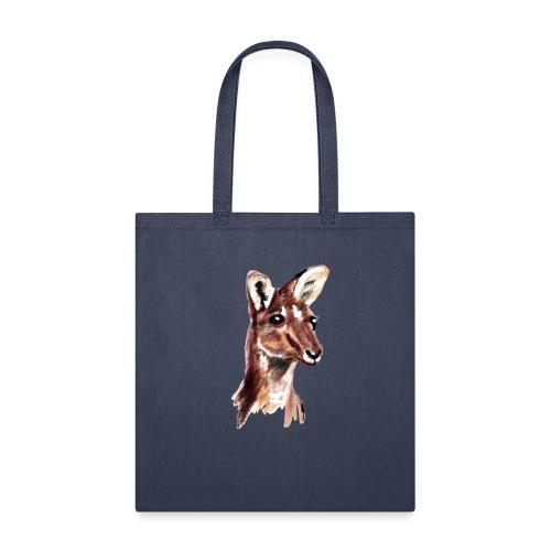 kangaroo face - Tote Bag