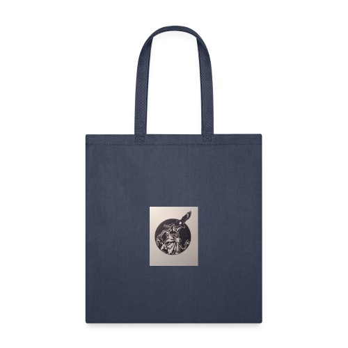 Wolf and Eagle - Tote Bag