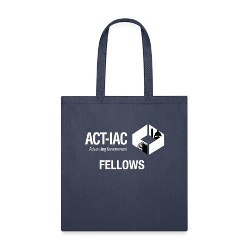 BW WITH TEXT Fellows actiac logo cmyk - Tote Bag
