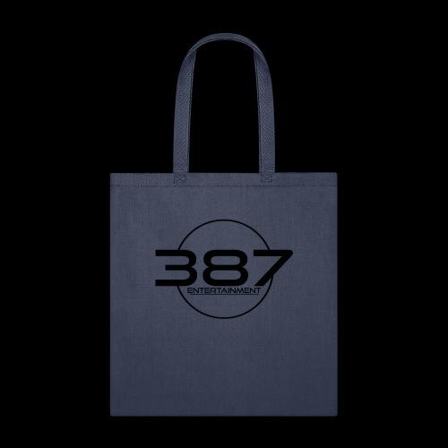 387 Entertainment Black - Tote Bag